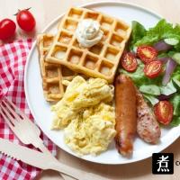 【食譜】自家製格仔餅 Homemade Waffle