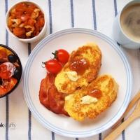 【食譜】法式吐司早餐