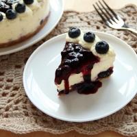 【食譜】免焗藍莓芝士蛋糕