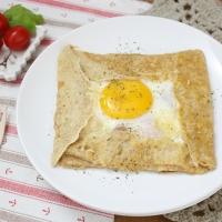 【食譜】法式薄餅Galette:煙肉與太陽蛋