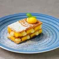 【食譜】芒果青檸拿破崙千層酥 Mille-feuille