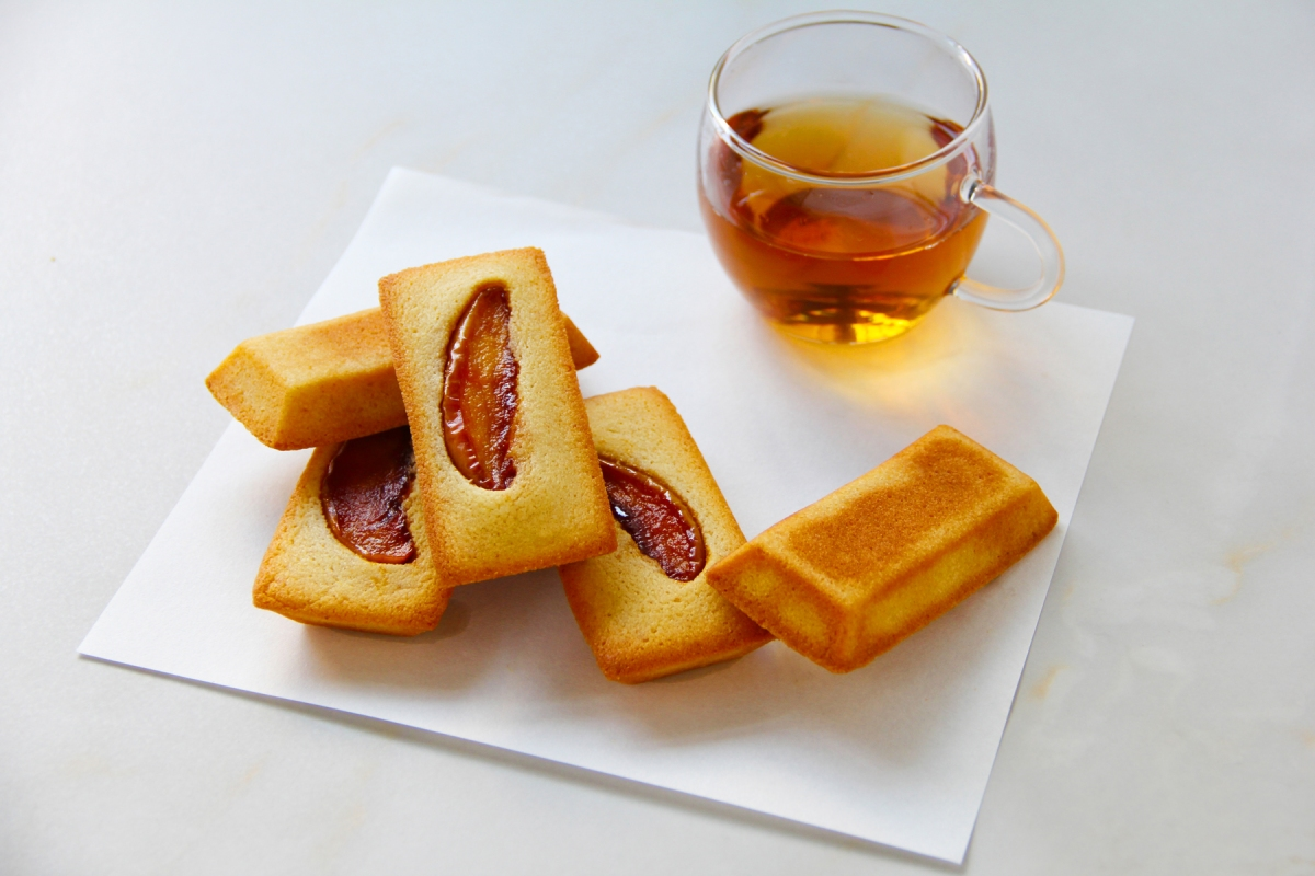 【食譜】焦糖蘋果金磚蛋糕